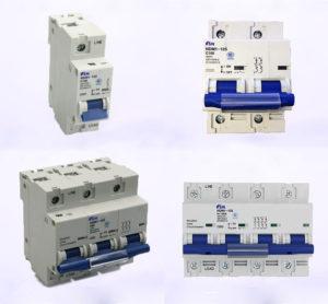 Автоматический выключатель SN серии NDM1-125