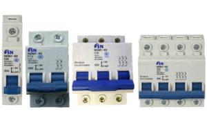 Автоматический выключатель SN серии NDM1-63