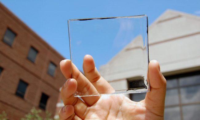 Прозрачная солнечная панель ученых Мичиганского государственного университета