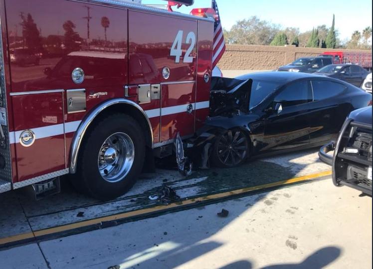 Tesla Model S - новое ДТП от автопилота