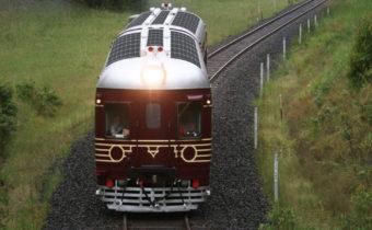 Поезда на солнечной энергии - новое предложение от британских инжинеров